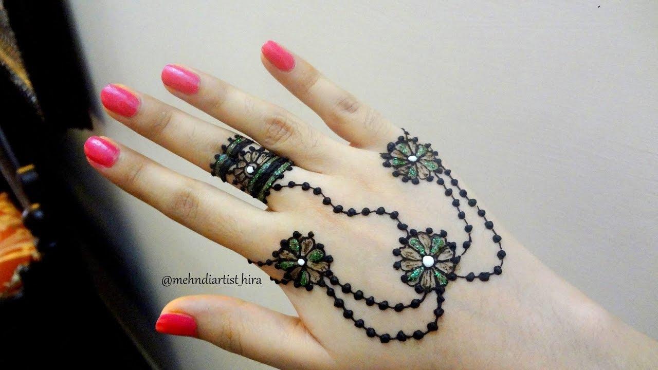 Famous Simple Arabic Mehndi Designs For Beginners Home Festooning ...