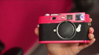 How to paint a Leica M9 Pinkenta