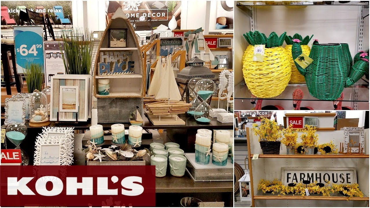 Shop With ME KOHL'S HOME DECOR GARDEN IDEAS FURNITURE