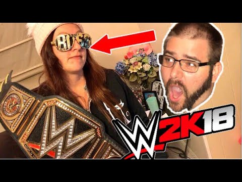 HEEL WIFE LOVES WWE 2K18 WWE REPLICA BELTS AND YOU WONT BELIEVE WHAT HAPPENS TO GRIM!