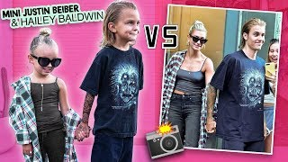 5 YEAR OLDS MINI JUSTIN BIEBER & HAILEY BALDWIN RECREATE INSTAGRAM PHOTOS!! (so cute)