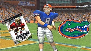 REX GROSSMAN CAN SLING IT BUT ONLY IN NCAA FOOTBALL 2002