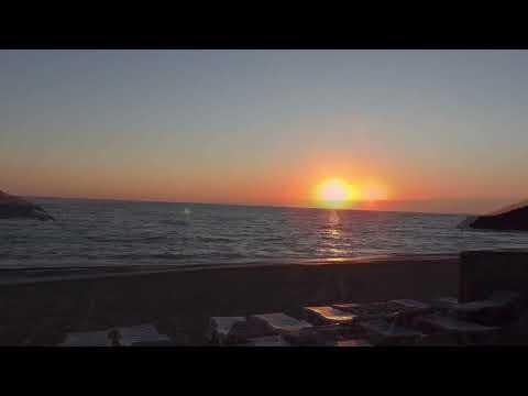 Красивый закат на море. Релакс.
