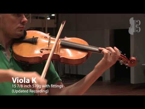 Viola K updated recording