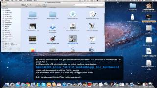 How to make Mac OS X Lion bootable USB disk for Windows PC using Unibeast
