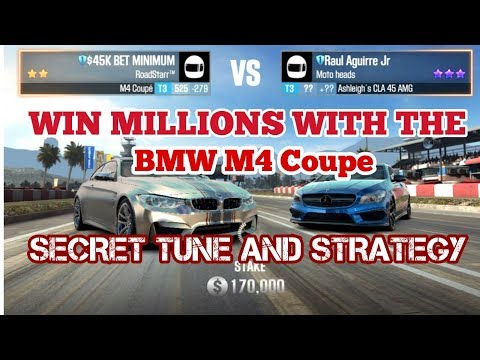 Win Millions FAST with the M4 Coupe - Win EVERY LIVE RACE- No Cheat - No Glitch - CSR2