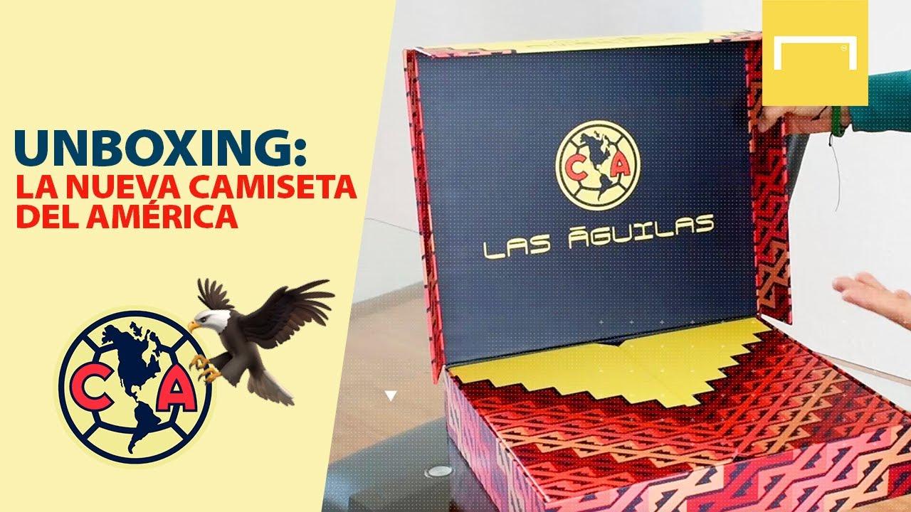 Unboxing y sorteo de la nueva camiseta del América