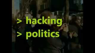 "Book Trailer for ""Hacking Politics"" - How We Defeated SOPA & PIPA"