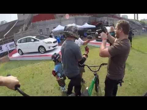 Patrick Laughlin bike transfer attempt 2