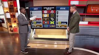 ESPN College Football Playoff Predictions after Week 7