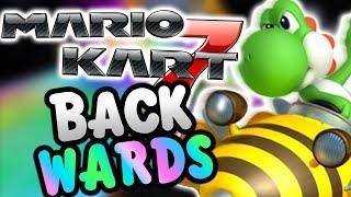 Mario Kart 7 BACKWARDS! (Retro Tracks)