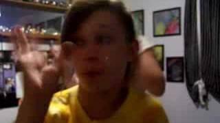 Marissa and Rachel dancing to sos