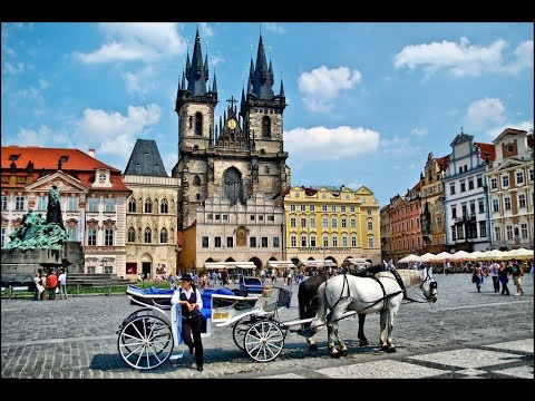 Prague Czech Republic 4K Video..Best of Europe