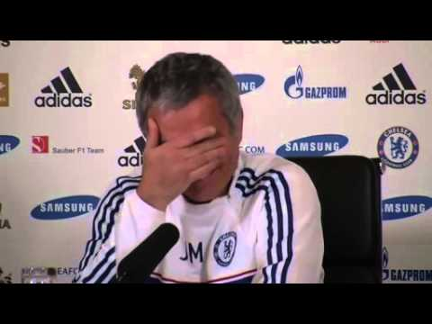 David Luiz shouted Son of Bitch and José Mourinho started laughing!