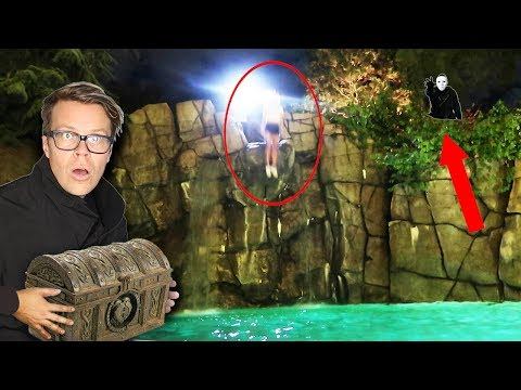 GAME MASTER Hypnotized REBECCA ZAMOLO to Jump 45FT in Pool Overnight! Code 10 Mystery Treasure Found