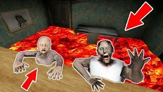 Granny, Grandpa Vs *floor Is Lava* - Funny Horror Animation Parody (21-30 Part. All Series In A Row)