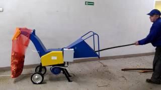 Rębak do gałęzi RD-108 z silnikiem elektrycznym