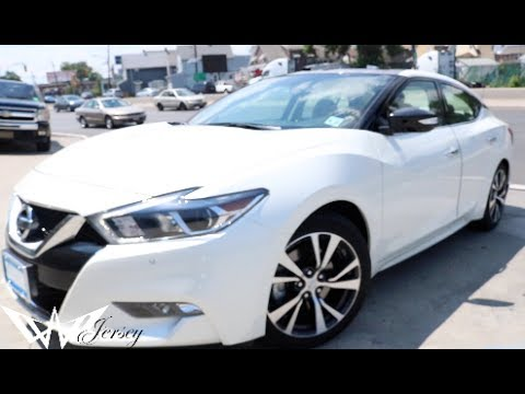 White 2017 Nissan Maxima Sl Tinted By Winning Window Tints