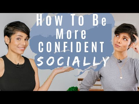 4 Tips To Be More Confident Around People/ How To Get People To Like You