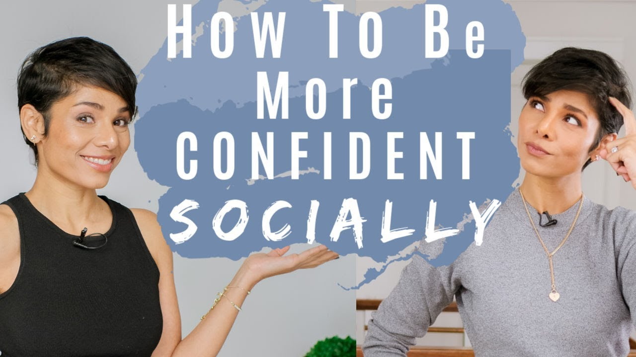 Download 4 Tips To Be More Confident Around People/ How To Get People To Like You