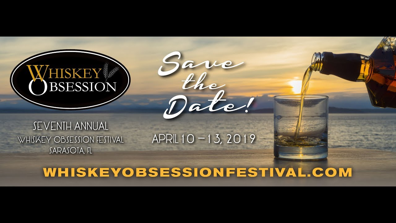 Sarasota Events April 2020.Whiskey Obsession Festival
