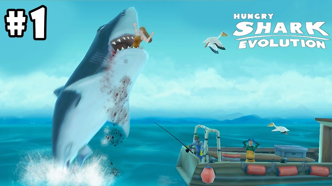 hungry shark evolution by future games of london android hungry shark evolution by future games of london android gameplay part 1 hd
