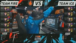 [10 Blitzcranks] Fire VS Ice One for All Highlights - All Star LA 2015