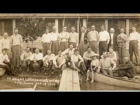 The History of Lake James Angola, Indiana