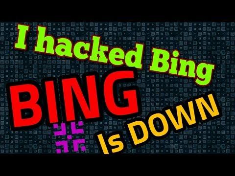 Bing Is Down