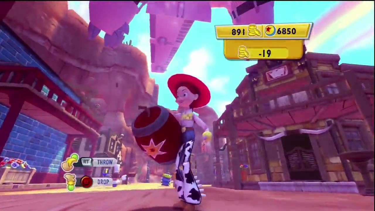 Toy Story 3 Video Game Woody S Roundup Part 8 Spoiler