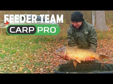 Команда Carp Pro .Ловля карпа и леща поздней осенью.