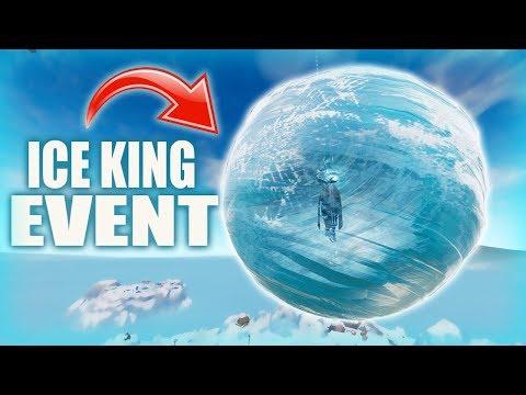 Fortnite - ICE KING EVENT COUNTDOWN. :) Chill Stream.
