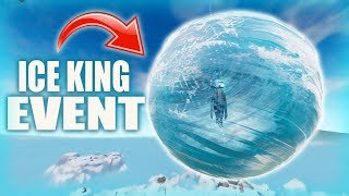 Fortnite - ICE KING EVENT COUNTDOWN. :) Chill Stream.