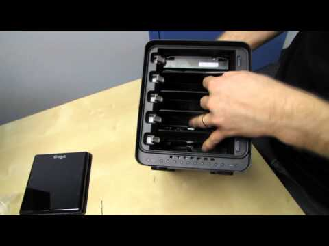 Data Robotics Drobo S 5 Bay Storage Enclosure Unboxing & First Look Linus Tech Tips
