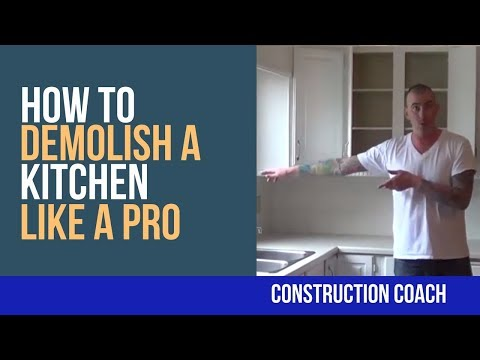 How to Demolish a Kitchen like a Pro – DIY