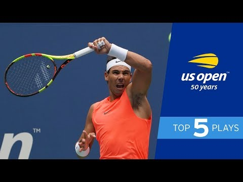 Top 5 Points Of Day Session 5 At The 2018 US Open