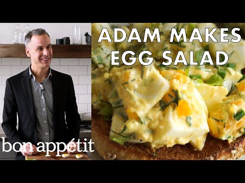 How to Make the Perfect Egg Salad | Bon Appetit