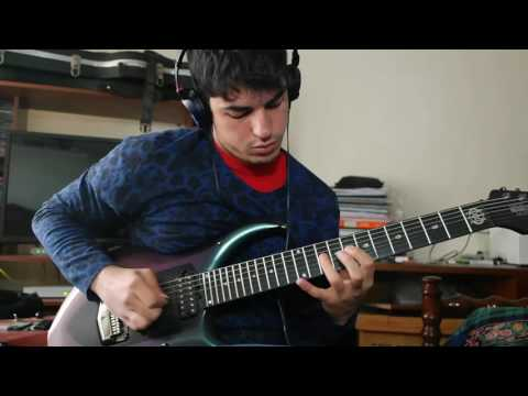 Jason Richardson - Fragments (Luke Holland, Lukas Magyar, Mark Holcomb) Guitar solo cover