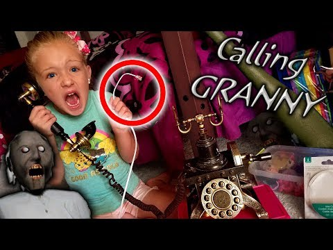 Calling Granny In Real Life! *OMG* She Called Me Back On Abandoned Phone!!!