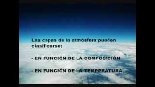 La atmósfera Terrestre (Parte 1)