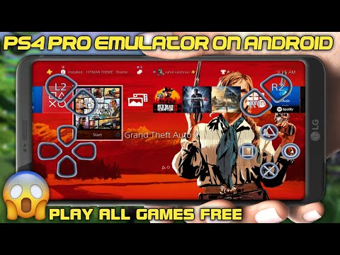 Download PS4 Cloud EMULATOR For Android -- With Play Fortnite GTA 5 On Android -- - 동영상