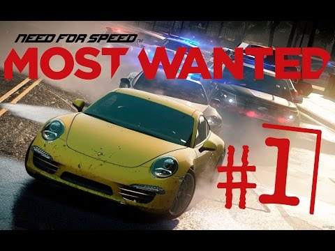 Need For Speed Most Wanted 2012┃Водитель жопорук┃#1