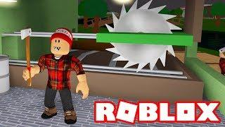 Roblox - WORKING OF LUMBERMAKER, FISHERMAN et JANITOR!! -Bienvenue à Bloxburg #3 🎮