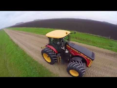 New Versatile 360 Tractor with Goodyear LSW Tires