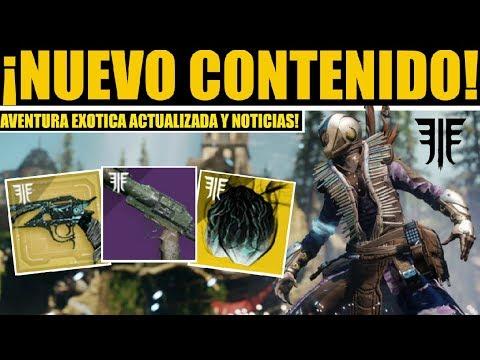 Destiny 2 Todos los Cambios! Nueva Aventura! Info Misión Exotica! Ocaso! Petra! Tess y Noticias! thumbnail