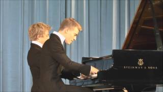 Пианисты Лукас и Артур Юссен во Владикавказе