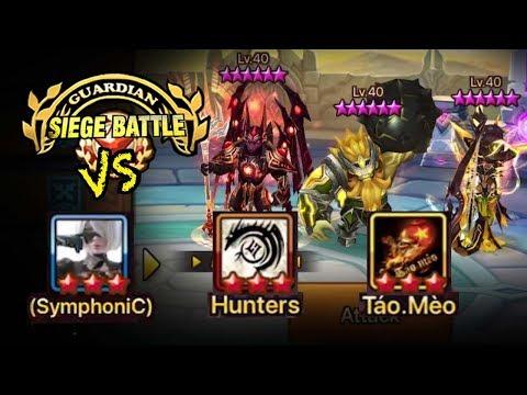 Beating The Best Meta Nb4 Defense - Guardian Siege Battle - Summoners War