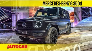 Mercedes-Benz G 350d India Launch, Price & Walkaround | First Look | Autocar India