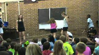 Mallory, Kaylee, and Lilly - Blow Cheer/Dance Part II
