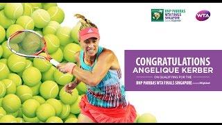 Angelique Kerber Qualifies For 2016 WTA Finals
